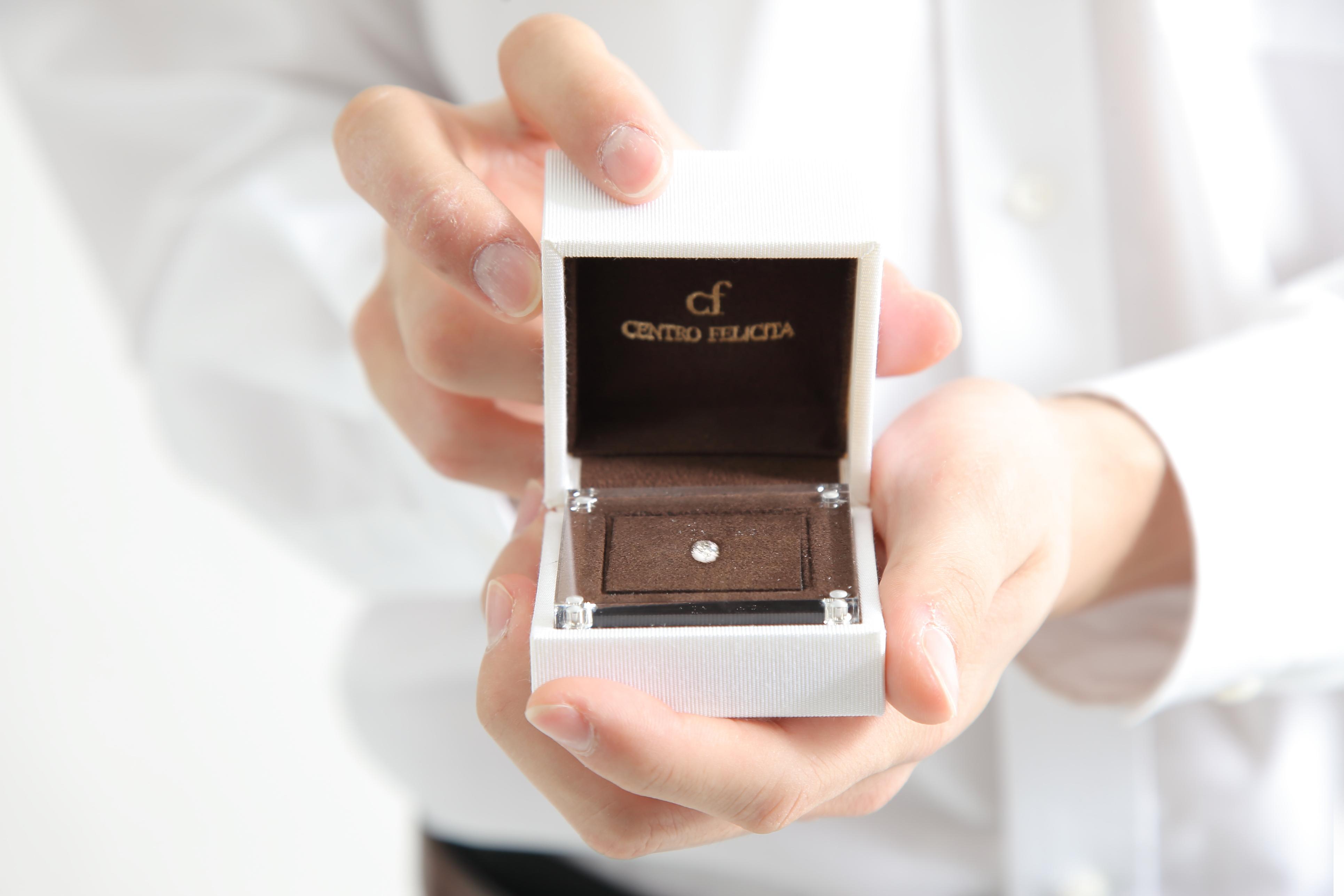 仙台 結婚指輪 婚約指輪 プロポーズ セントロフェリタ