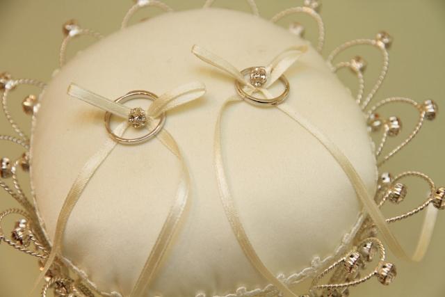 結婚指輪置き